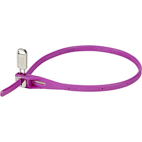 Hiplok Z-Lok Attache de câble 40cm, purple